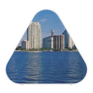 Horizonte de Miami, la Florida Altavoz