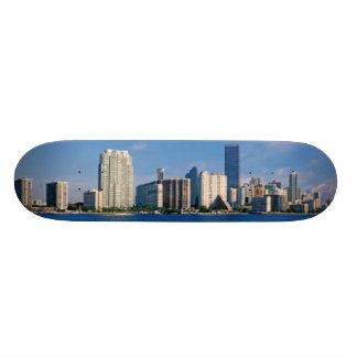 Horizonte de Miami, la Florida Monopatin Personalizado