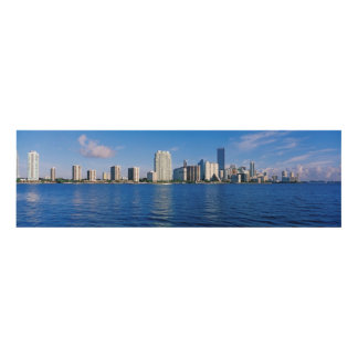 Horizonte de Miami, la Florida