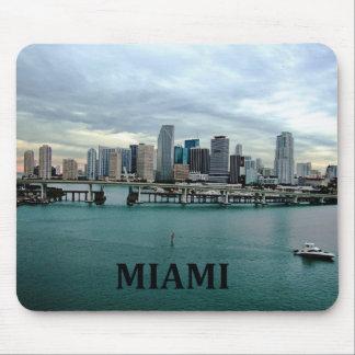 Horizonte de Miami la Florida Tapete De Raton