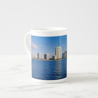 Horizonte de Miami, la Florida Taza De Porcelana