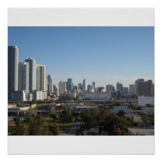 Horizonte de Miami Posters