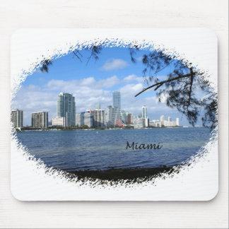 Horizonte de Miami Alfombrillas De Raton