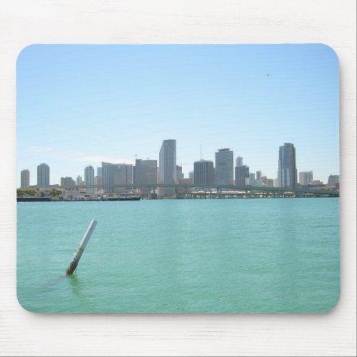 Horizonte de Miami Tapetes De Raton