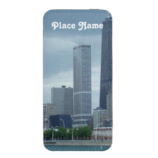 Horizonte de Michigan Funda Acolchada Para iPhone