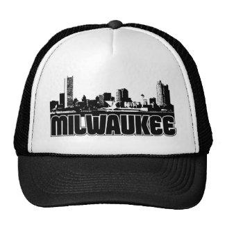 Horizonte de Milwaukee Gorras De Camionero