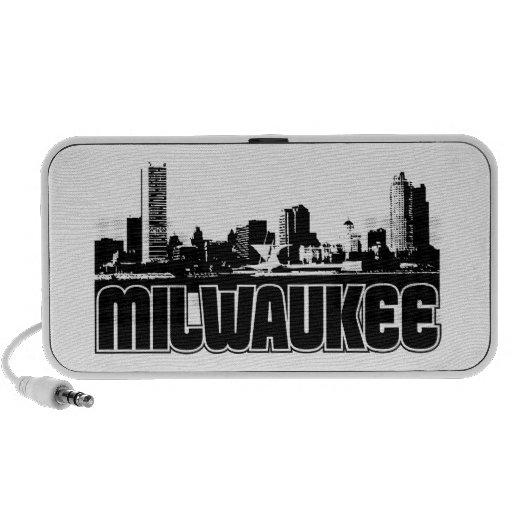 Horizonte de Milwaukee iPhone Altavoz