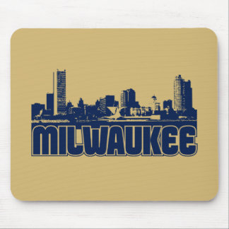 Horizonte de Milwaukee Mousepad