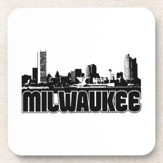 Horizonte de Milwaukee Posavasos De Bebida