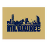 Horizonte de Milwaukee Tarjetas Postales