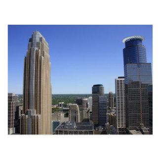 Horizonte de Minneapolis de la torre de Foshay Postal
