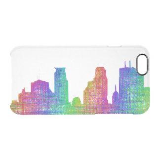 Horizonte de Minneapolis Funda Clearly™ Deflector Para iPhone 6 De Uncommon