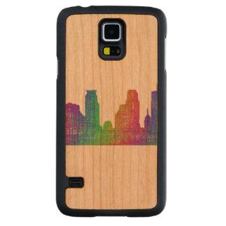Horizonte de Minneapolis Funda De Galaxy S5 Slim Cerezo