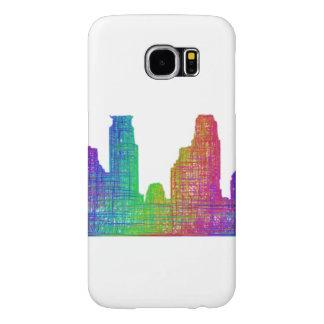 Horizonte de Minneapolis Fundas Samsung Galaxy S6