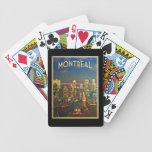 Horizonte de Montreal Baraja Cartas De Poker