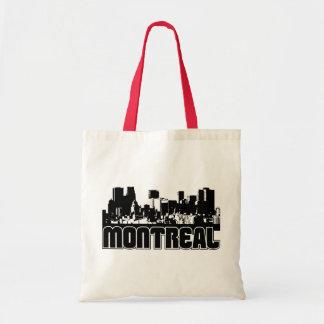 Horizonte de Montreal Bolsa Lienzo