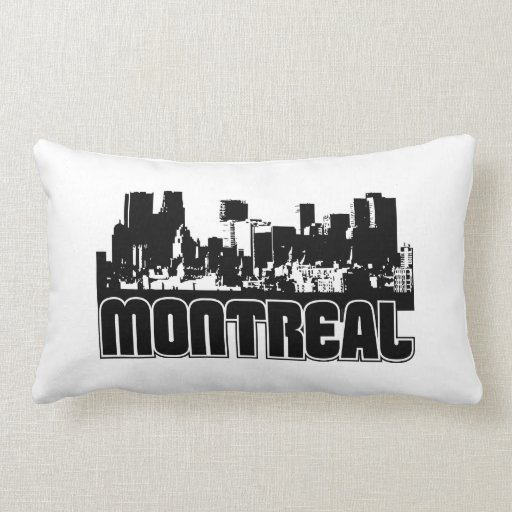 Horizonte de Montreal Cojín