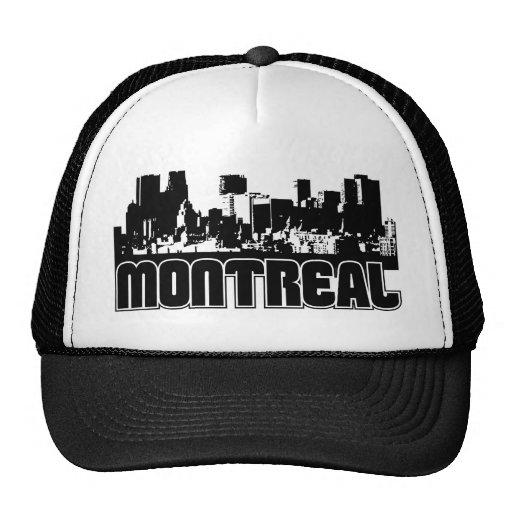 Horizonte de Montreal Gorras