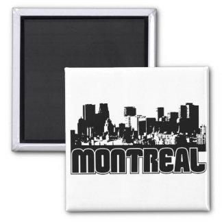 Horizonte de Montreal Imán Cuadrado