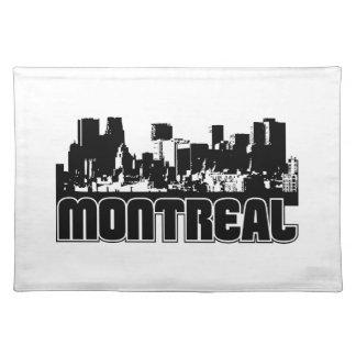 Horizonte de Montreal Mantel Individual