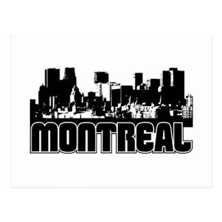Horizonte de Montreal Postales