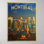 Horizonte de Montreal Posters