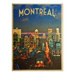 Horizonte de Montreal Tarjeta Postal