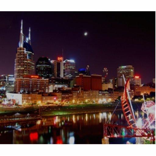 Horizonte de Nashville Fotoescultura Vertical