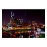 Horizonte de Nashville Poster