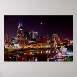 Horizonte de Nashville Póster
