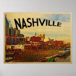 Horizonte de Nashville Tennessee Impresiones
