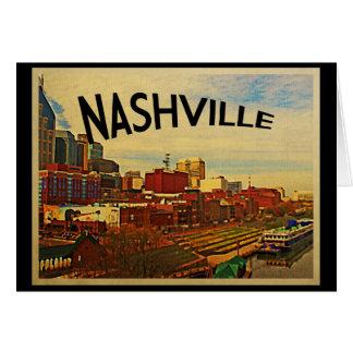 Horizonte de Nashville Tennessee Tarjetón