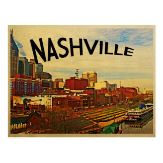 Horizonte de Nashville Tennessee Tarjetas Postales