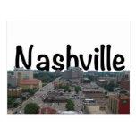 Horizonte de Nashville TN con Nashville en el Postal