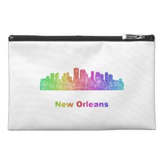 Horizonte de New Orleans del arco iris