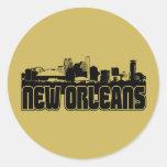 Horizonte de New Orleans Etiqueta