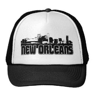 Horizonte de New Orleans Gorras De Camionero