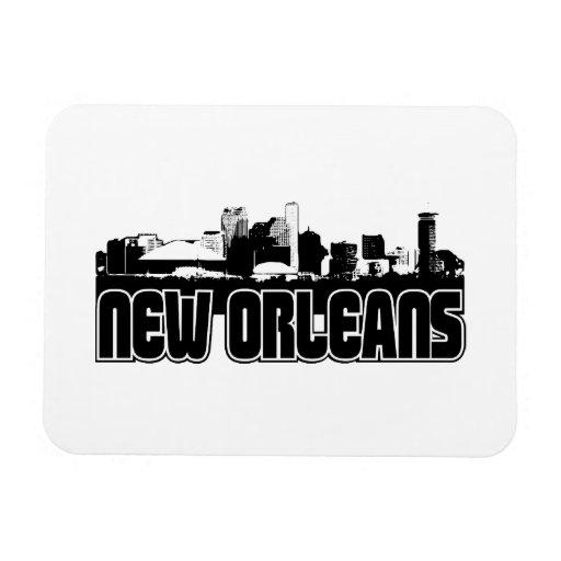Horizonte de New Orleans Imán