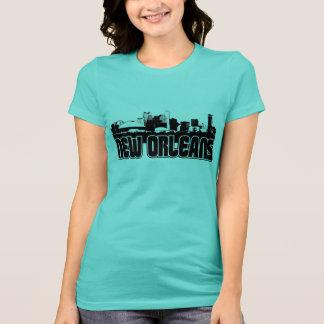 Horizonte de New Orleans Camisetas