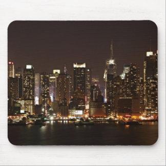 Horizonte de New York City Alfombrillas De Ratones
