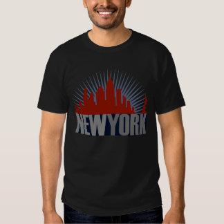 Horizonte de New York City Camisas