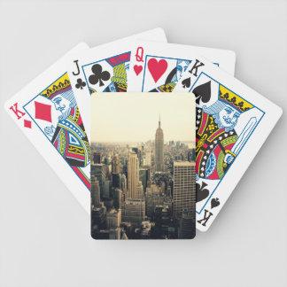 Horizonte de New York City Baraja Cartas De Poker