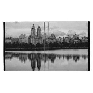Horizonte de New York City del Central Park