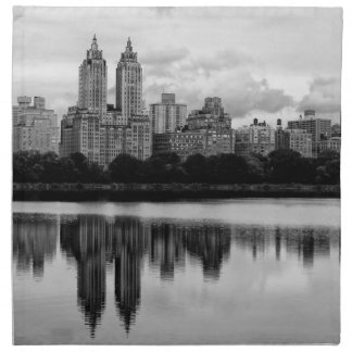 Horizonte de New York City del Central Park Servilleta Imprimida