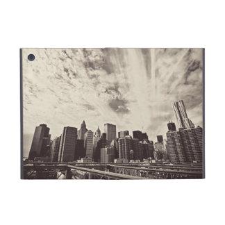 Horizonte de New York City del estilo del vintage iPad Mini Cobertura
