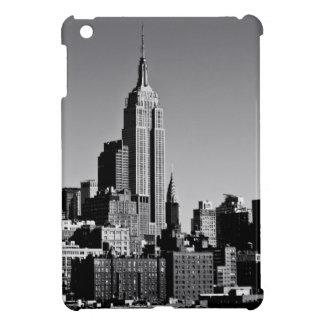 Horizonte de New York City en blanco y negro iPad Mini Cárcasa
