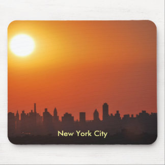 Horizonte de New York City en el cojín de ratón de Mouse Pad