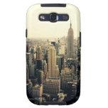 Horizonte de New York City Samsung Galaxy S3 Fundas