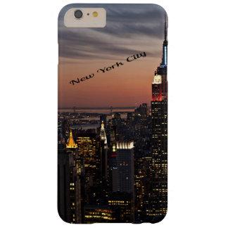 Horizonte de New York City Funda De iPhone 6 Plus Barely There