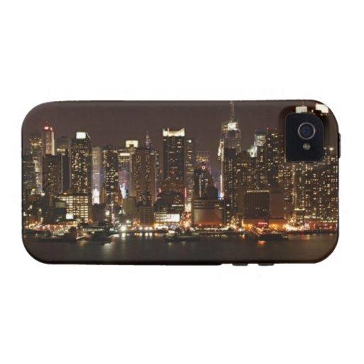 Horizonte de New York City Case-Mate iPhone 4 Funda